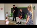 Чудо концерт 23.07.2017 Рисуем Музыку дуэт Евгений Гуренко - аккордеон и Денис Давыдов - саксофон