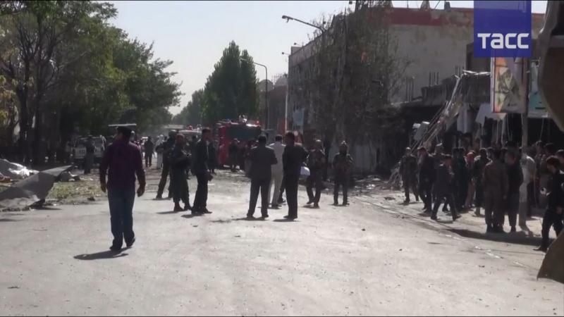 Не менее 24 человек погибли в результате теракта в Кабуле