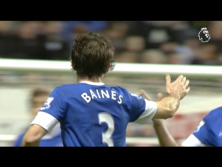 Goal of the Day • Baines' belting free-kick
