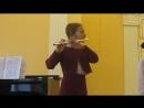 Санктус флейта старший хор