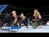[WWE QTV]☆[Smackdown Live]☆[02.05.2017]Carmella and Natalya vs Naomi Charlotte]☆[Смек Лайв]Наоми Шарлотте про Кармелла и Наталия