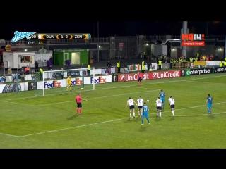 Лига Европы, групповой этап, 3-й тур. Дандолк 1-2 Зенит