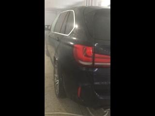 BMW x5m контрольный осмотр после оклейки