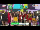 170208 Red Velvet @ Show Champion Rookie 2nd Win