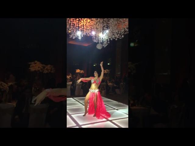 مع حبي من مصر ، أللا كوشنير/Alla Kushnir belly dance Zay el Assal from Cairo 2017