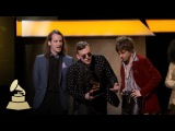 Cage The Elephant  Acceptance Speech  59th GRAMMYs 2017
