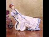 Фарфор: статуэтки компании English Ladies.