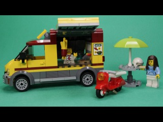LEGO CITY - PIZZA VAN, 60150 / ЛЕГО СИТИ - ФУРГОН-ПИЦЦЕРИЯ, 60150.