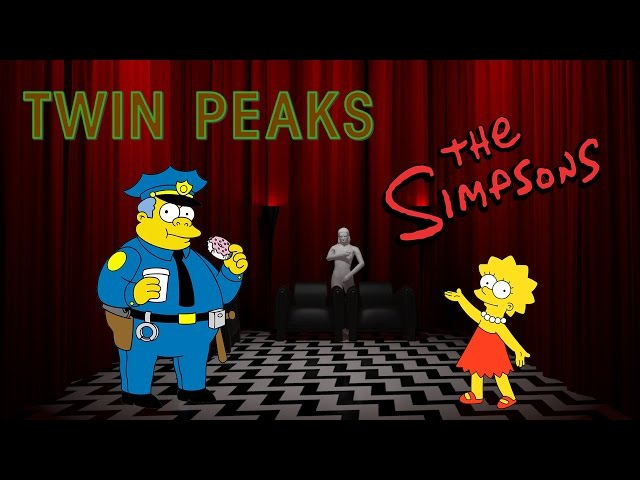 Твин Пикс в Симпсонах (Гомер и Лиза) | The Simpsons: Twin Peaks (Homer and Lisa)