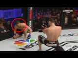 MMA Fighter throws Hadouken at opponent, then beats him up