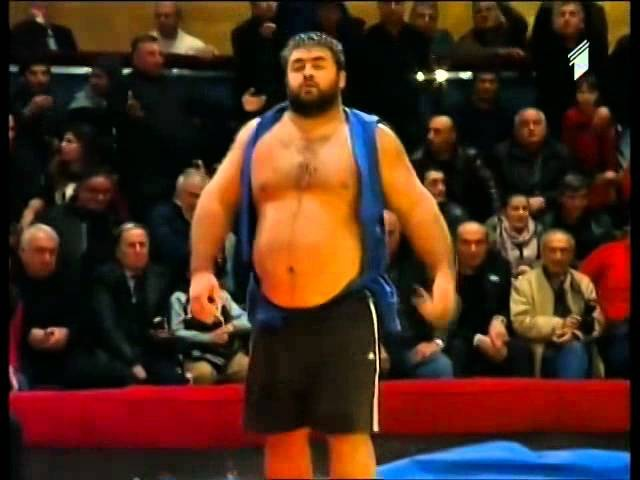 Beka Gviniashvili VS Adam Okruashvili finali falavnoba 2014