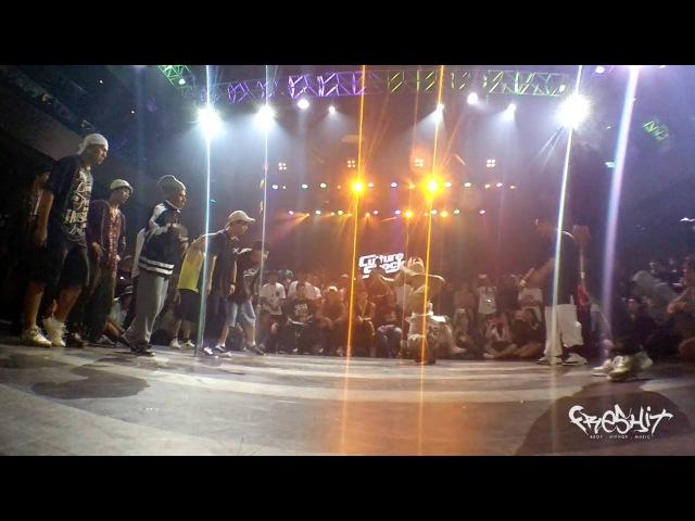 Korea Assassin vs Free State / Culture Shock Vol.6 / 3 on 3 Bboy - Top 8 Freshit Tv