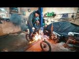 Что будет если установить закись азота на мотоцикл? Форсаж?