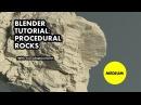 Blender tutorial Procedural rocks
