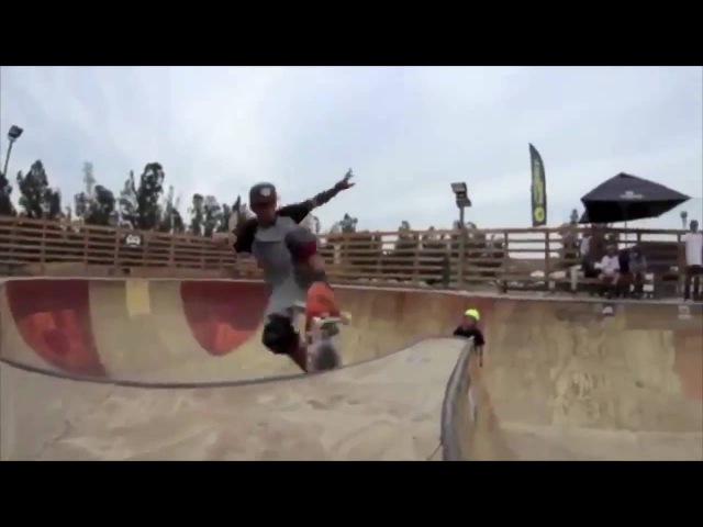 Известный райдер Benjamin Perez тестирует скейт Z-Flex
