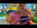 Baby Born Doll and Funny Kid play on the Indoor Playground Area With Nursery Rhymes songs for kids!