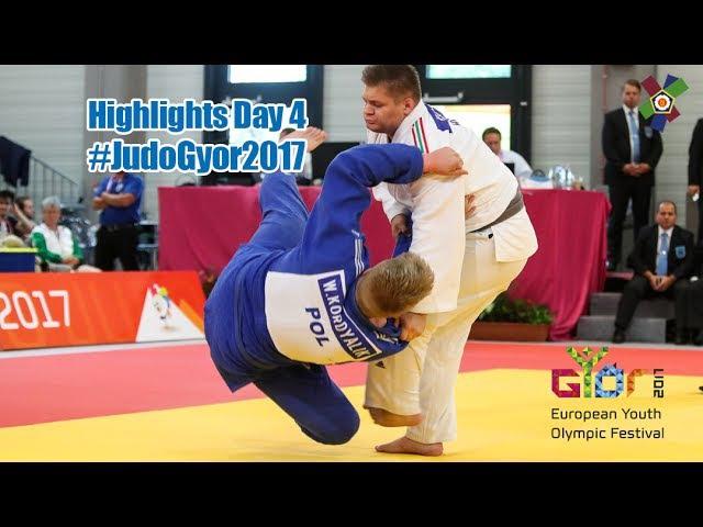 EYOF Györ 2017 Highlights of Day 4