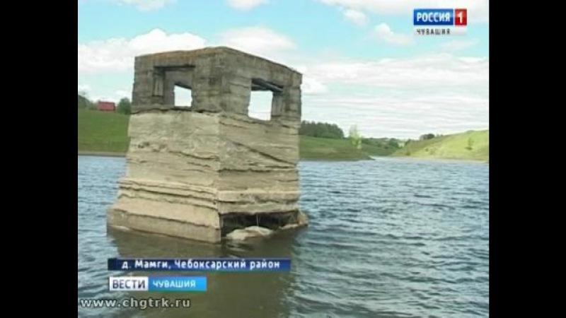 Единственный пруд в деревне Чебоксарского района может превратиться в болото