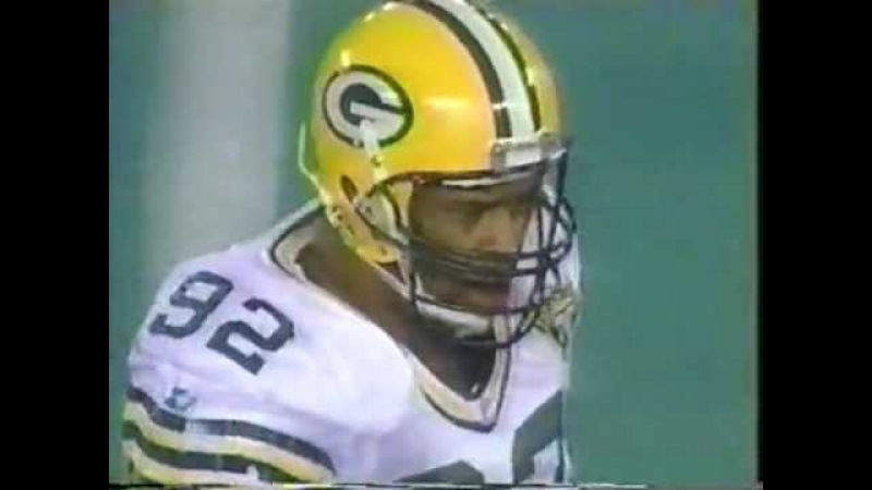 1993 NFC Wild Card Game Green Bay Packers vs Detroit Lions 2nd Half
