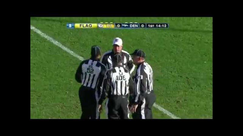 2011 AFC Wild Card Pittsburgh Steelers vs Denver Broncos