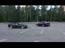 BMW E36 BMW E34 BURNOUT DRIFT