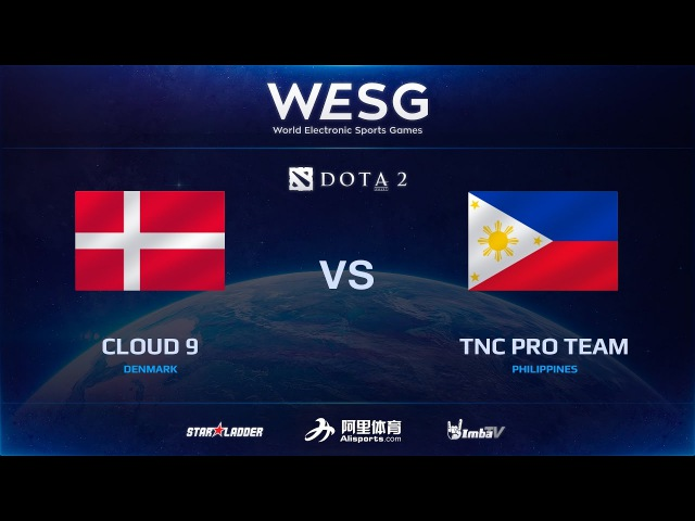 [RU] Cloud 9 vs TNC Pro Team, Game 3, Final, 2016 WESG Dota 2 Grand Final presented by Alipay