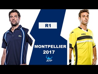 Jeremy Chardy vs Marcel Granollers Highlights MONTPELLIER 2017