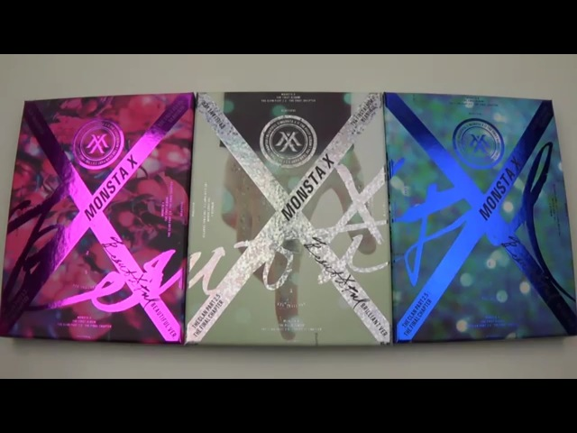 Unboxing Monsta X 몬스타엑스 1st Studio Album Beautiful (All Versions!) » Freewka.com - Смотреть онлайн в хорощем качестве