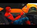 Мультик про Машинки Грузовик и Цветные Машинки Детское Видео Супергерои и Песенки для Малышей