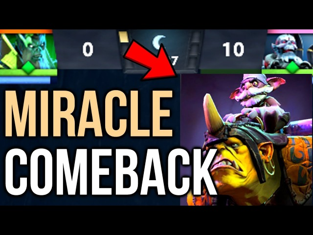 Miracle- Alchemist [POV] Comeback is Real - TI7 Grand Final Game 2 Dota2