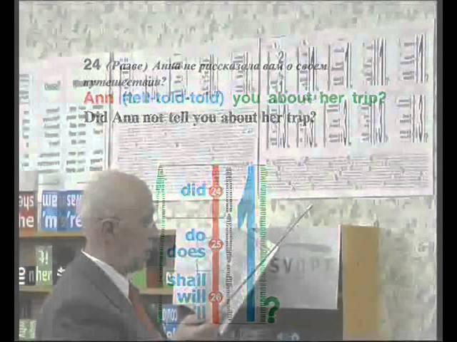 Английский язык Грамматика Урок 2 По методике Зайцева МАЛЫШИ КАРАНДАШИ