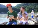 Макс Корж - Жить в кайф (Укулеле кавер от Svit Family на берегу великой Ганги) Cover to Ukulele
