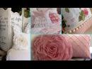 ❤ DIY Shabby Chic Style Cushion decor Ideas ❤   Home decor Interior design   Flamingo Mango