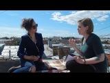 Интервью с Ольгой Абдуллиной на крыше ''Много джаза в маленьком Петербурге