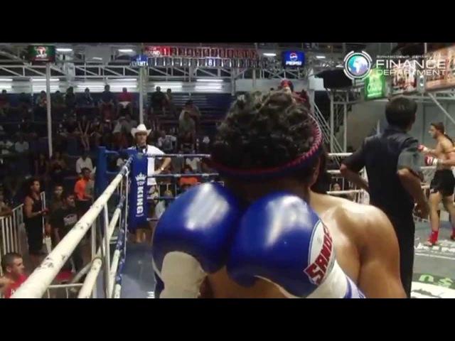 Matthew Richardson REGGAE Muay-Thai first Muay Thai Knockouts
