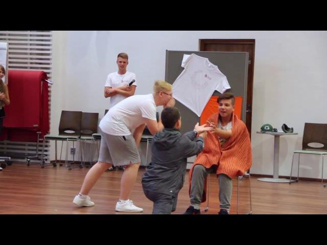 «Красная Шапочка» в стиле Мыльной оперы. Международный детский лагерь 'Школа Ро ...