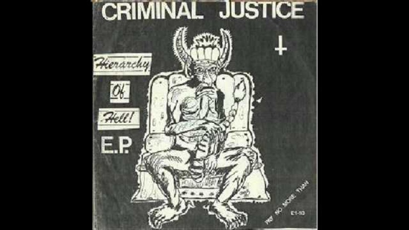 Criminal Justice - The Hierarchy Of Hell EP