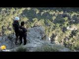 Shaan-Kaya Rope Jumping with Skyline X-team in Crimea