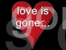David Guetta - Love Is Gone. ♫ Every felt so right so wrong Now that the love is gone I feel so hurt inside ♥