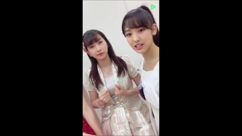 [LL] Line Live - Iikubo Haruna (MM), Yajima (C-ute), Kasahara (Ang), Uemura (JJ), Yanagawa (CG), Inoue (KF) Ono (TF)