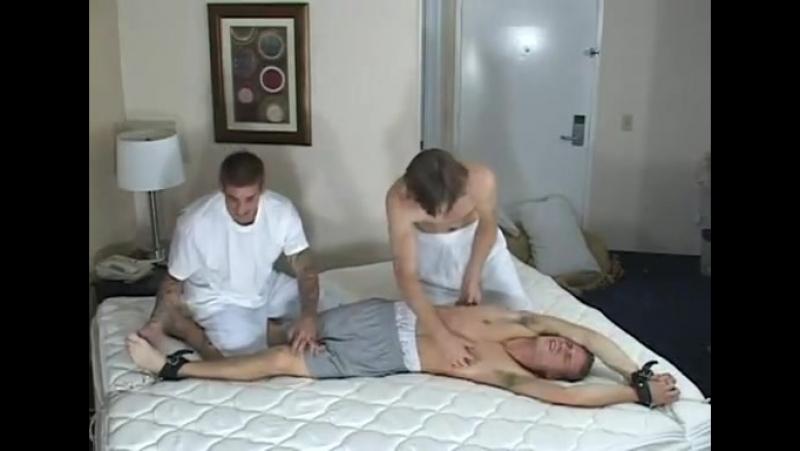 Cody cash tickled by evan matt and beezer