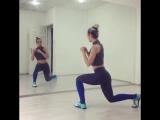 Упражнения на попу, ножки и бедра