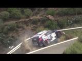 Чешский автогонщик Томаш Каспержик чудом не упал со скалы во время чемпионата по ралли на Канарских островах в пятницу. 2017