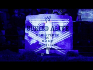WWE Bragging Rights 2010 Wolrd Heavyweight Championship Buried Alive match: Kane vs. The Undertaker HD