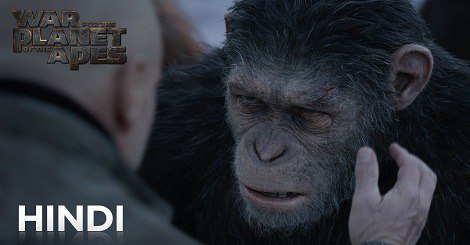 War for the Planet of the Apes in Hindi Dubbed Torrent