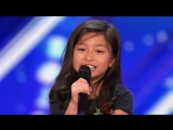Celine Tam Stuns Crowd with My Heart Will Go On - Americas Got Talent 2017