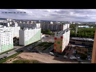 ЖК Бурнаковский с 17 этажа или побаловались немного крутой камерой =)