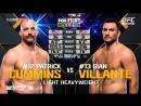 UFC Fight Night - Cummins - Villante FIGHT