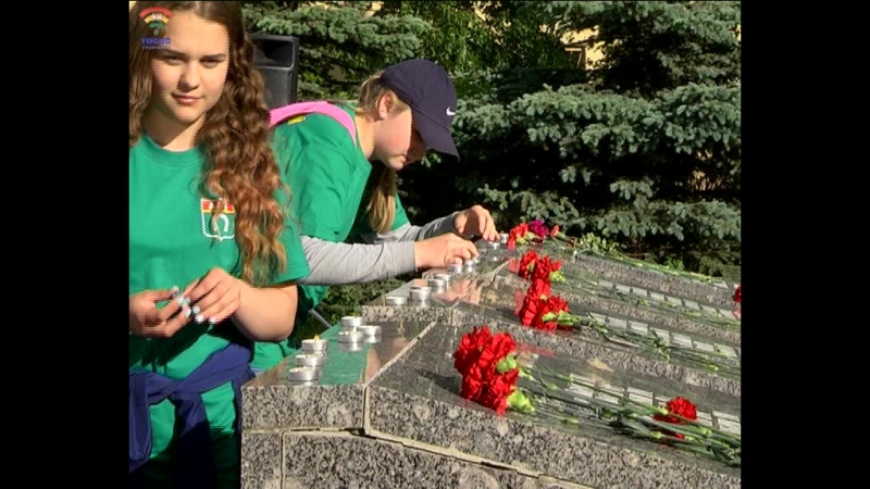 Торжественная акция Свеча памяти состоялась в г.Тосно 22 июня
