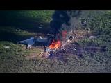 Крушение самолета в США